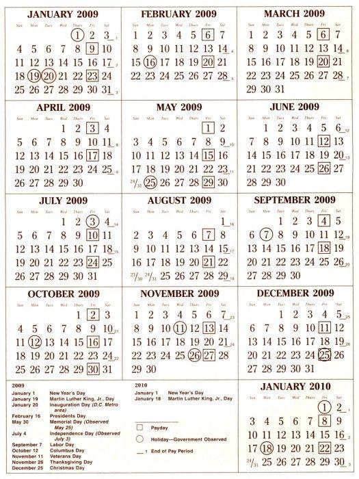 2016 Civilian Pay Calendar Dod | Blank Calendar Design 2017