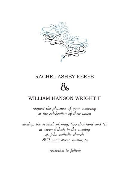 Wedding Invitation Templates Microsoft Word – Make Contemporary ...