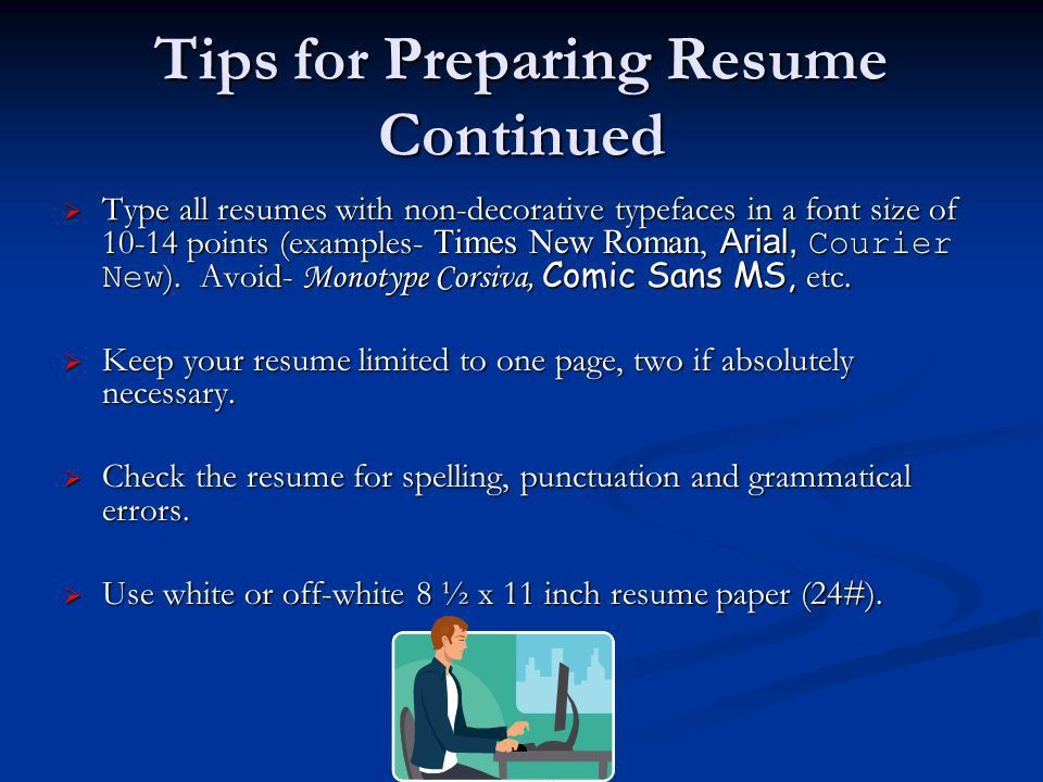 Resume and Cover Letter Workshop. Purpose of a Resume  The ...
