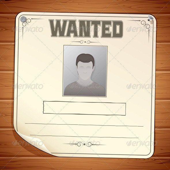 15+ Best Wanted Poster Templates PSD Download | PSDTemplatesBlog