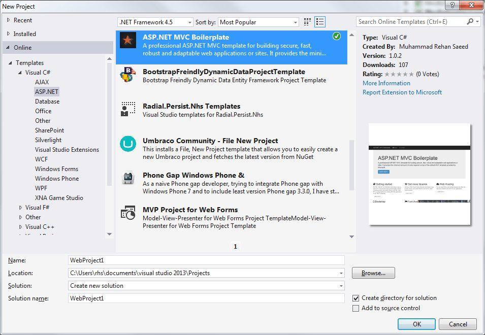 Custom Visual Studio Project Templates - Muhammad Rehan Saeed