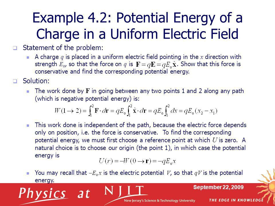 Physics 430: Lecture 7 Kinetic and Potential Energy - ppt download