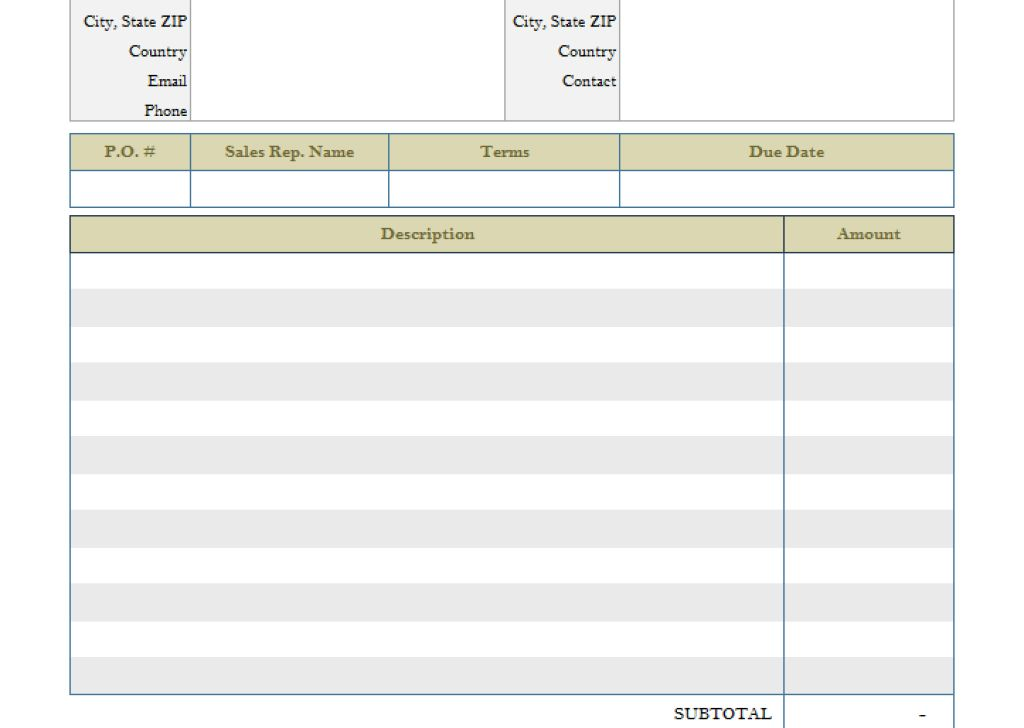 Occupyhistoryus Winning Payment Invoice Template With Luxury Movie ...