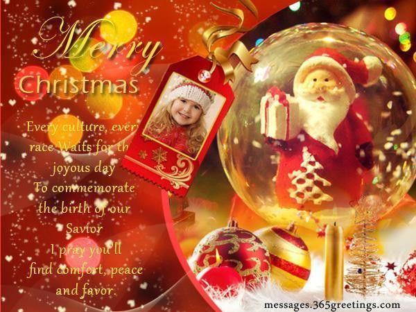 Christian Christmas Wishes and Christian Christmas Wording Ideas ...