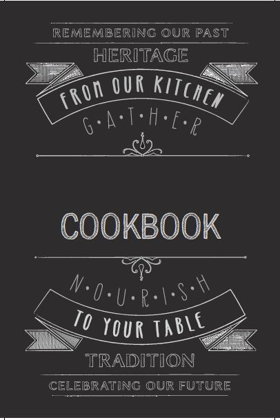 Cookbook Template. Vintage Branded Recipe Pages (A4) (Free ...