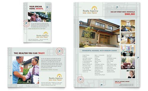 Real Estate Agent | Print Ad Templates | Real Estate