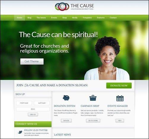 30+ Engaging Church Website Templates - Creative CanCreative Can