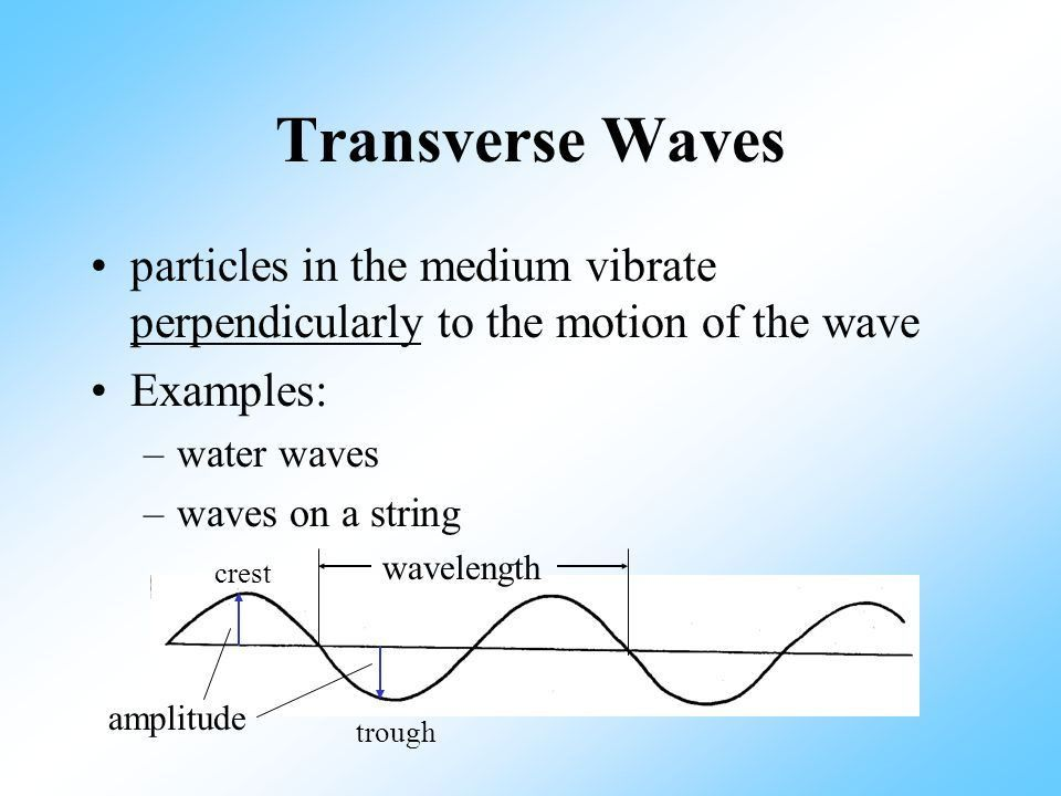 Waves. What are waves? A wave is a transfer of energy from one ...