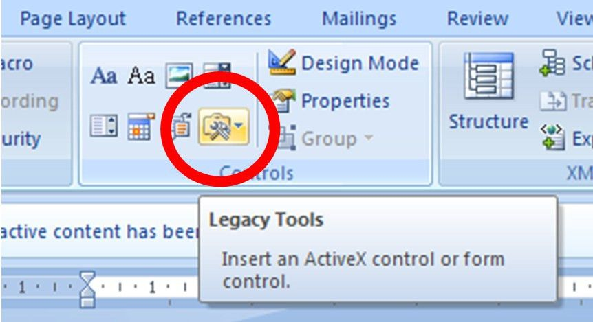 Creating an interactive document in Word | How do I…? You can do.
