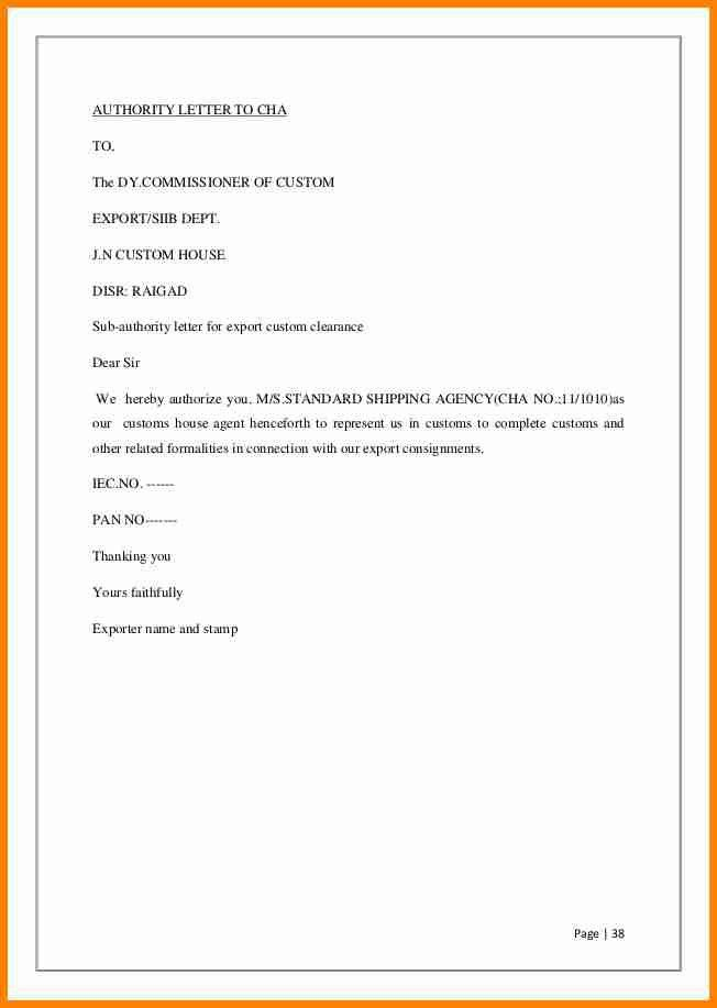 3+ authority letter for payment collection | lawyer-resume