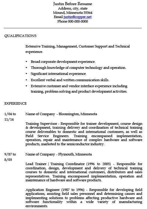 12 Sample Corporate Trainer Resume | RecentResumes.com