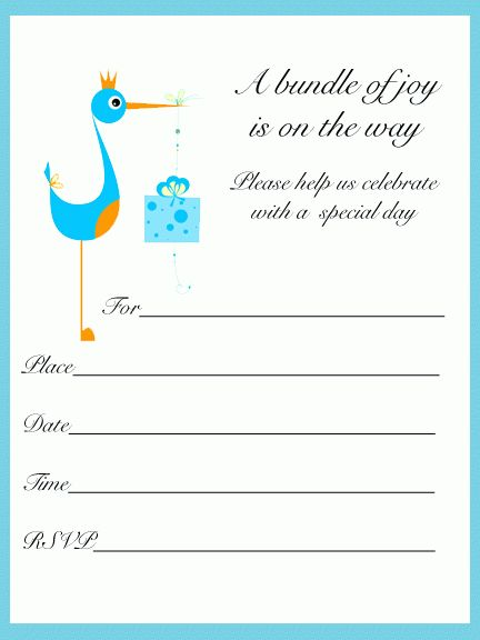 printable baby shower invitation templates baby shower invitation ...
