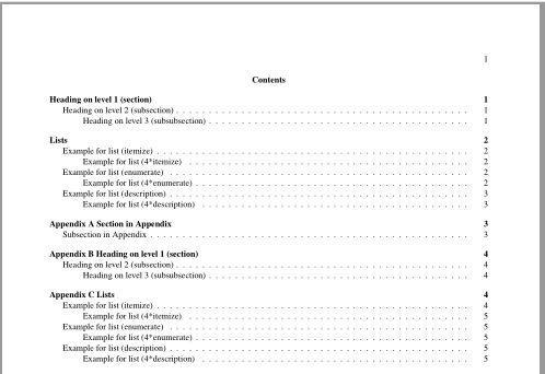table of contents - appendix missing in toc - TeX - LaTeX Stack ...