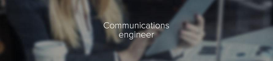 Communications engineer: job description | TARGETjobs