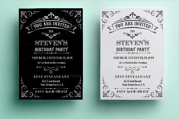 Birthday Invitation Templates Free Download - reduxsquad.Com