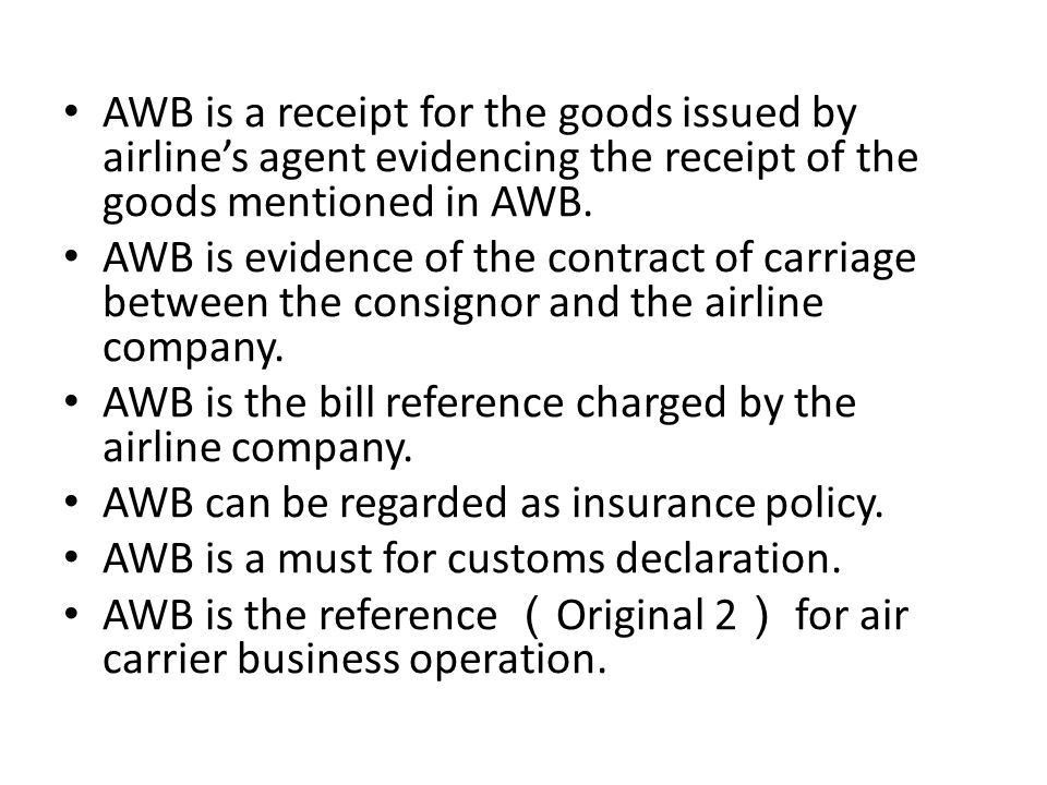 Bill of Lading. - ppt download