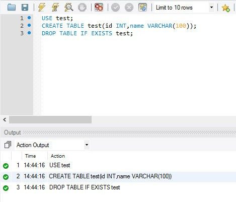 MySQL - How to Drop Table If Exists in Database? - SQL Authority ...