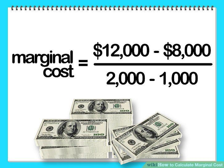 How to Calculate Marginal Cost: 11 Steps (with Pictures) - wikiHow