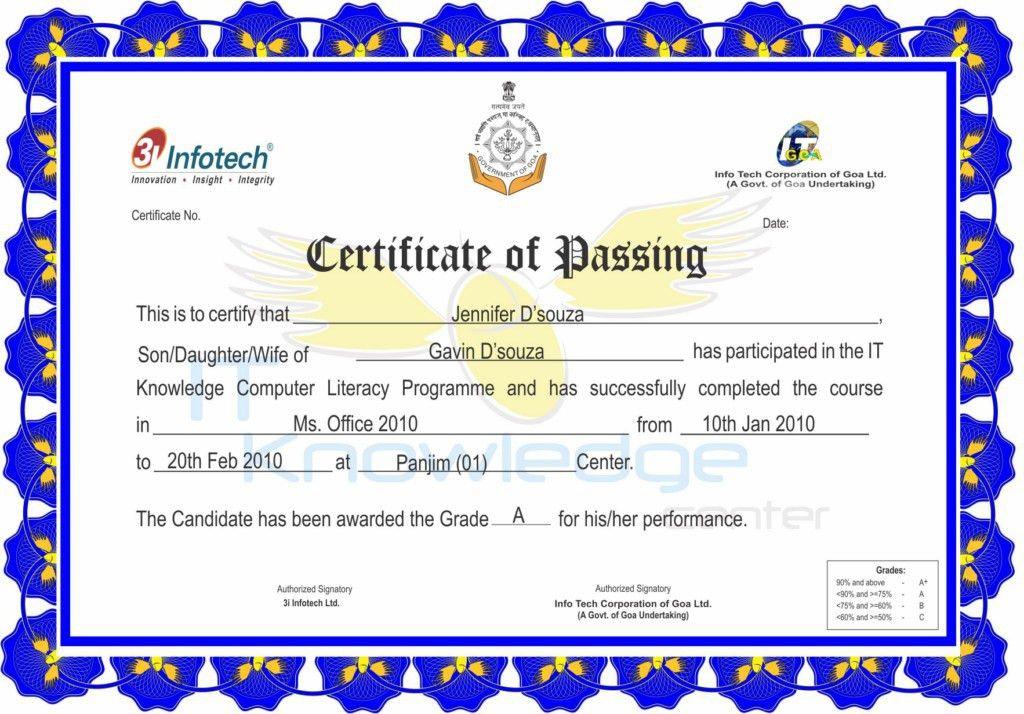 Info Tech Corp of Goa Ltd.