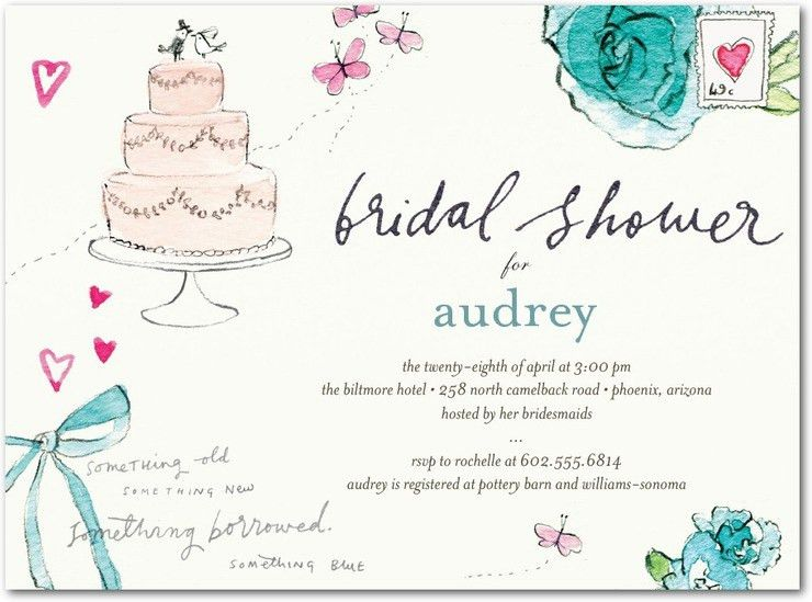 Bridal Shower Invite Template | christmanista.com