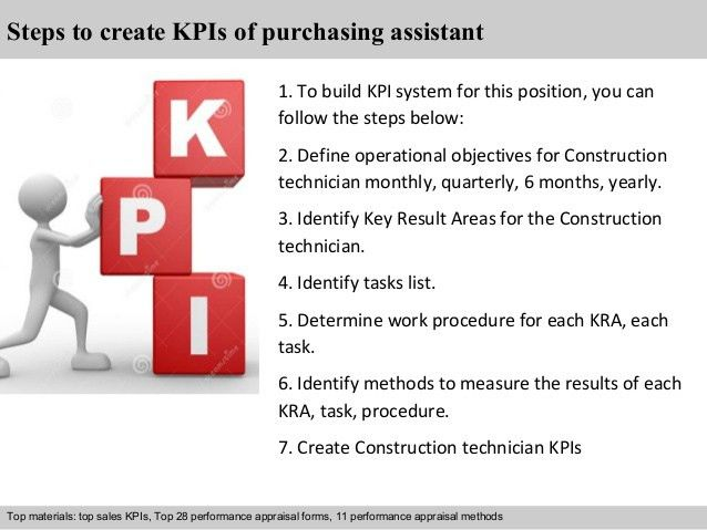 Purchasing assistant kpi