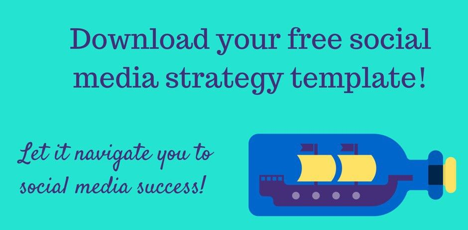 Download your free social media strategy template - Dog-Eared Social