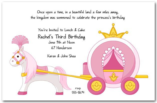 Birthday Invitation Pricness – orderecigsjuice.info