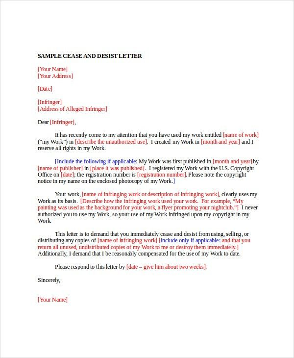 Letter Template - 12+ Free Word, PDF Documents Download | Free ...