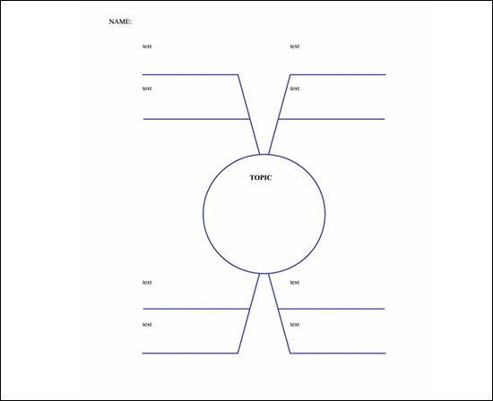 Blank Brainstorming Worksheets On Sample Proposal with Blank ...