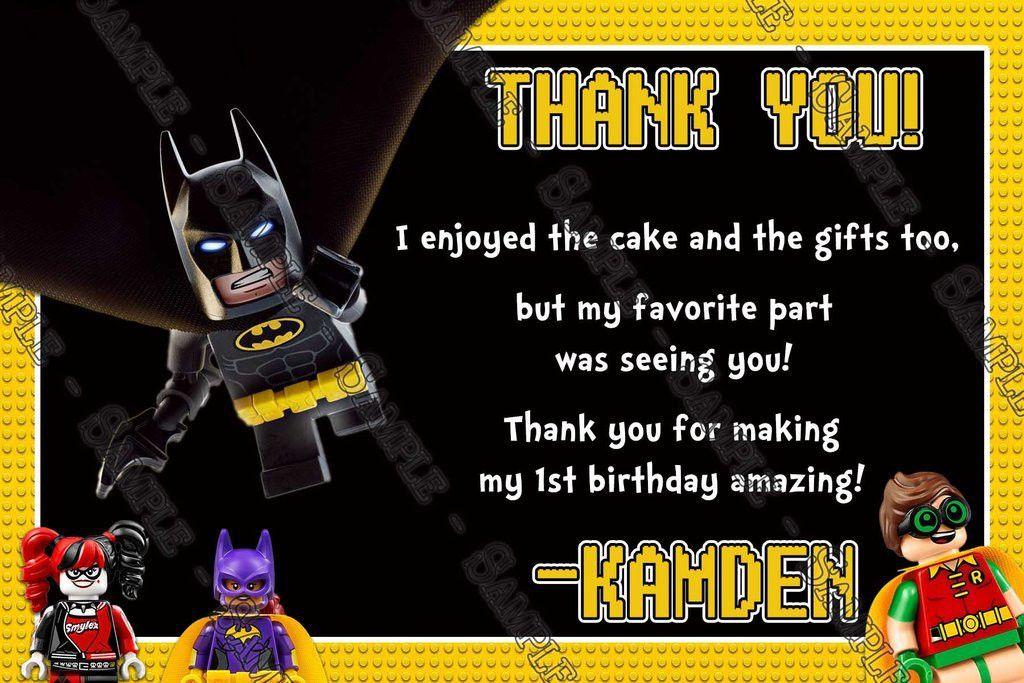 Novel Concept Designs - Lego Batman - The Movie - Birthday Party ...