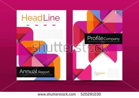 Business Company Profile Brochure Template Vector Stock Vector ...