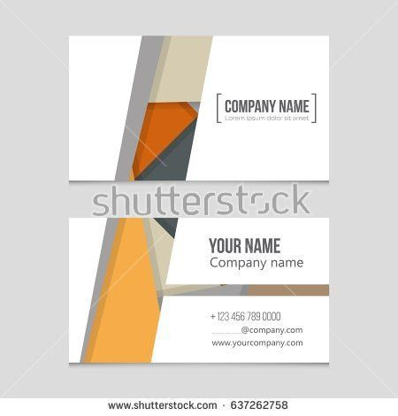 Abstract Vector Layout Background Set Art Stock Vector 648995110 ...