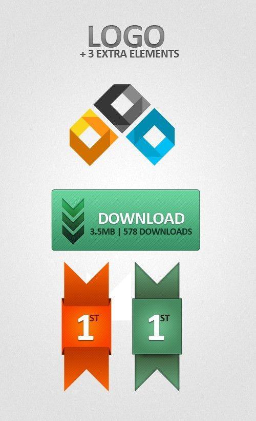 38 Free Photoshop Logo Templates PSD