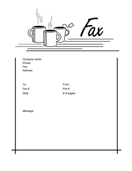 Fun_14 Cover Sheet Templates by MyFax