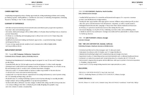 99+ Professional Resume Formats & Designs
