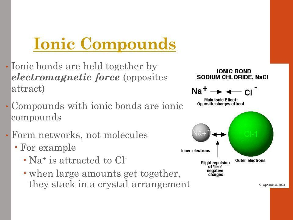 Structure of Matter Chapter 6 Section 1 Compounds and Molecules ...