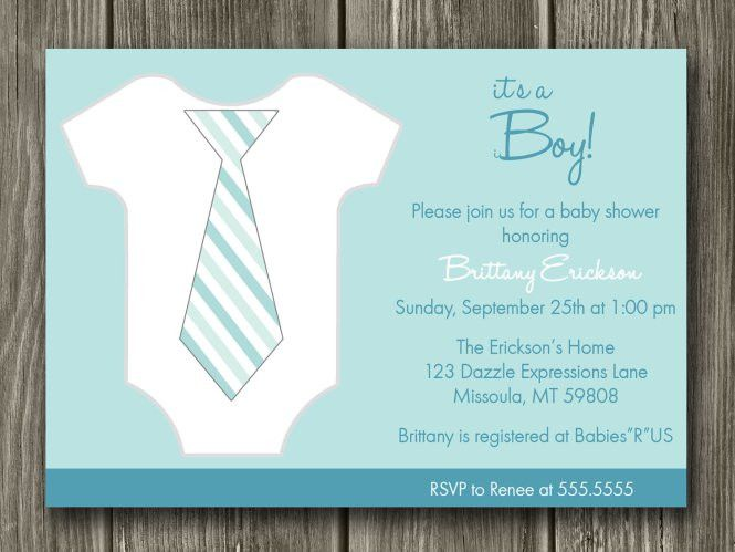 Free Boy Baby Shower Invitation Templates | PaperInvite