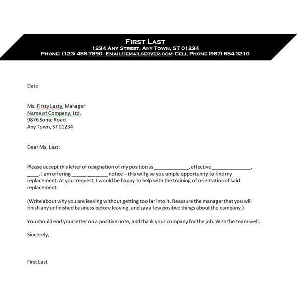 Resignation Letter Format: Awesome Ideas Rescind Resignation ...
