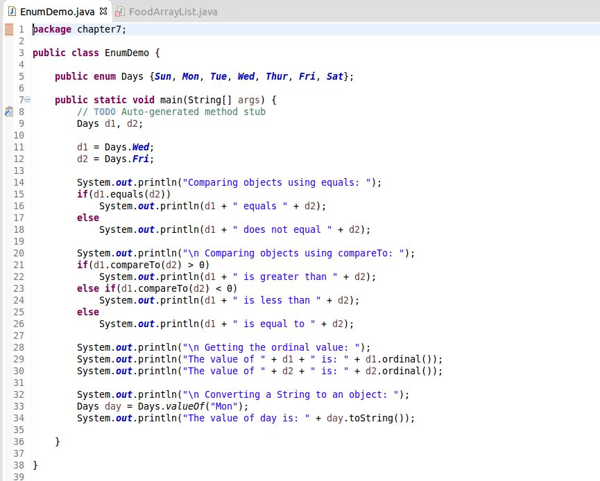 java - Enum Inside Class - Stack Overflow