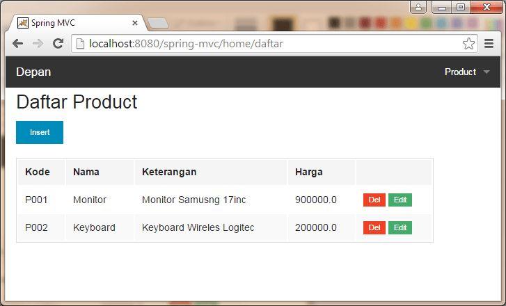 GitHub - hendrosteven/springmvc-jdbc-sample: This is a simple CRUD ...
