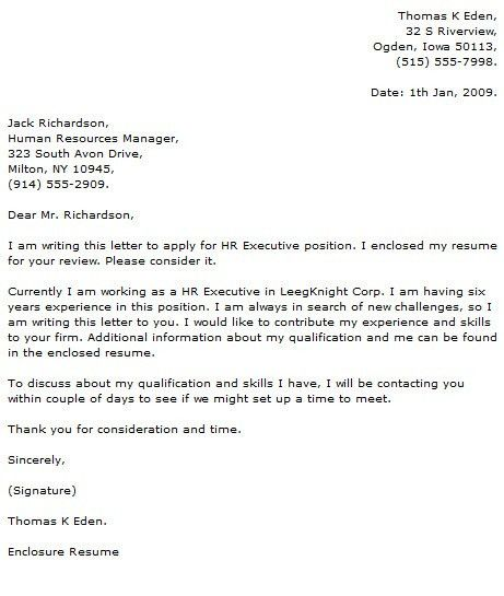 IT Executive Cover Letter Resume Cover Letter within Ceo Cover ...