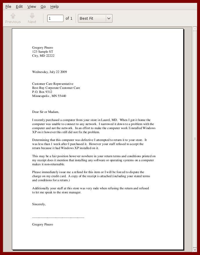 7+ sample business letter format | sendletters.info