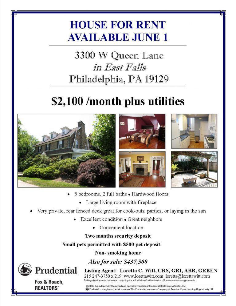 House For Rent Template - Ecordura.com