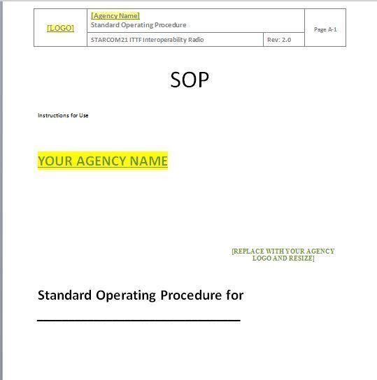 37 Best Free Standard Operating Procedure (SOP) Templates – Free ...
