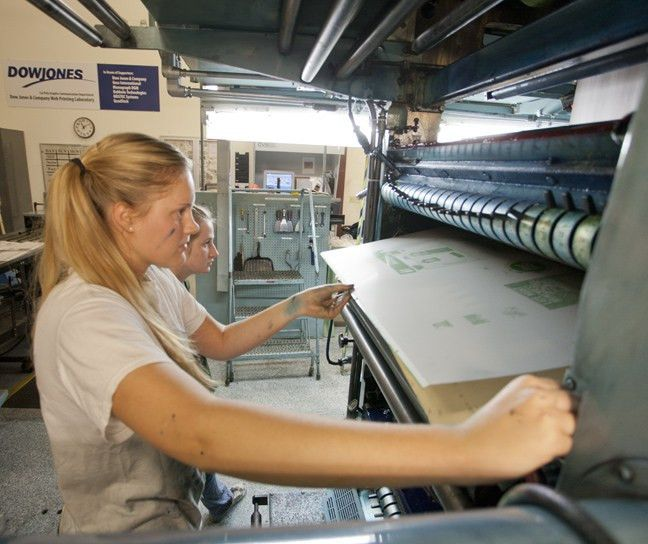 Women in command of their printing press | thelawlers.com
