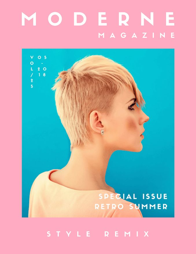 Free Online Magazine Cover Maker - Canva