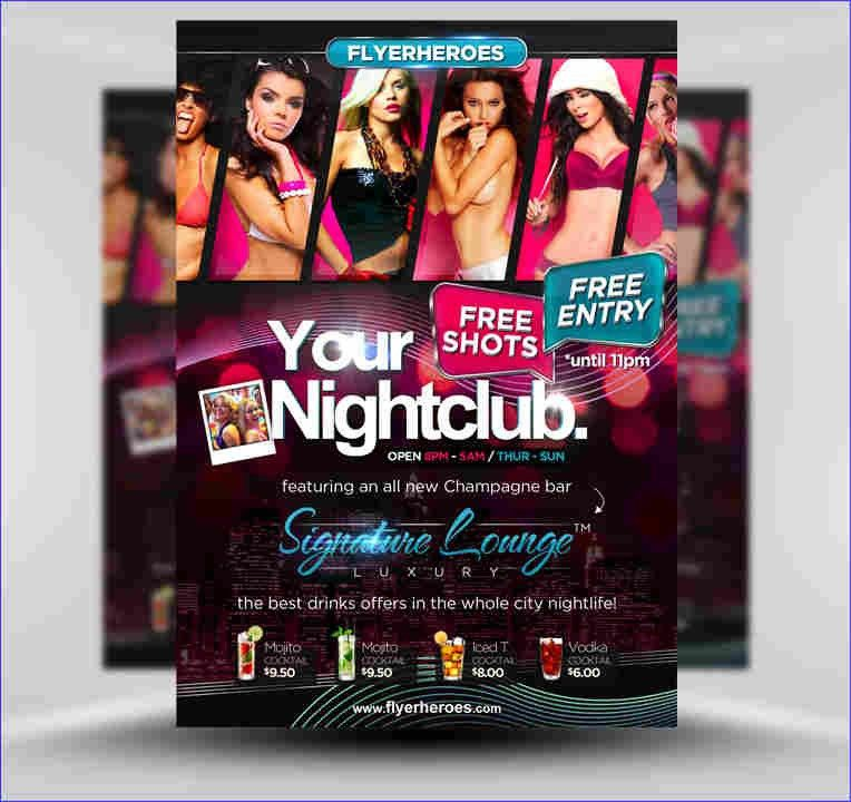 6+ club flyers templates | weeklyplanner.website