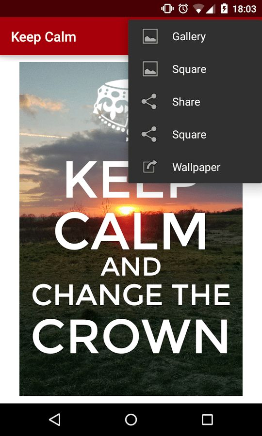 Keep Calm - Android Apps on Google Play