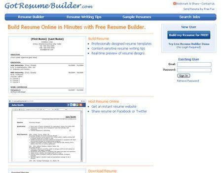 Great Websites To Help You Make a Resume - blueblots.com
