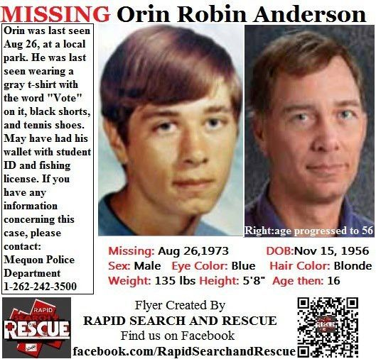 Current Missing Person flyers from Wisconsin in the 1970s To ...